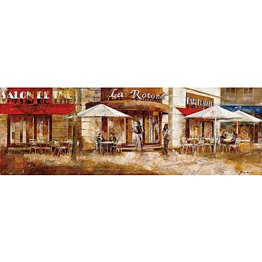 Art Effects La Rotonde by Noemi Martin Painting Print on Wrapped Canvas