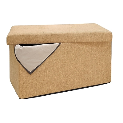 Simplify Double Folding Ottoman, Camel