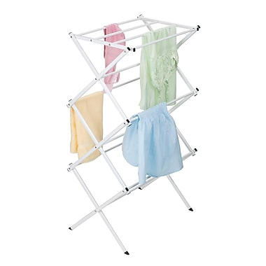 Woolite Compact White Drying Rack 18'