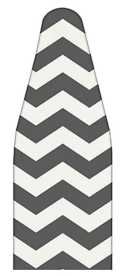 The Macbeth Collection Ironing Pad and Cover Chevron Graphite