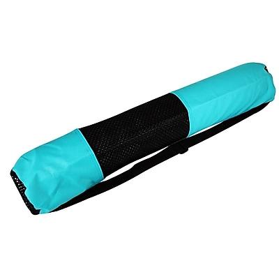 Yoga Direct Mat Nylon Bag, Aqua Green