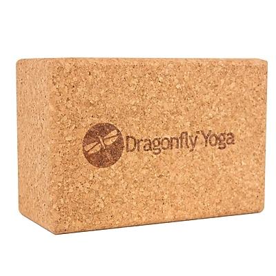 Dragonfly Yoga Cork Block