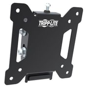 "Tripp Lite Wall Mount for Flat Panel Display, 13"" to 27"" Screen Support, 39.92 kg Load Capacity, Metal, Black (DWT1327S)"