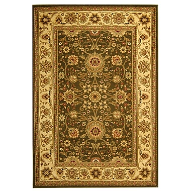 Safavieh Sage and Ivory Area Runner Polypropylene, 9' x 12'