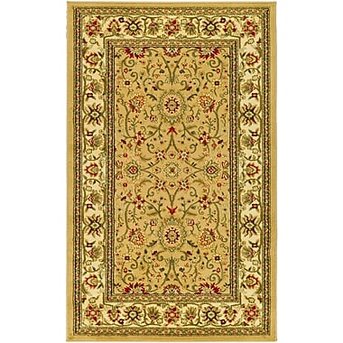 Safavieh Lyndhurst Collection Beige and Ivory Area Rug Polypropylene