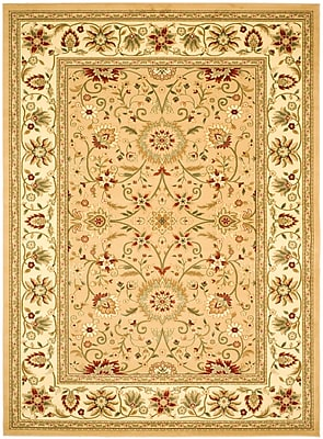 Safavieh Lyndhurst Collection Beige and Ivory Area Rug Polypropylene 96