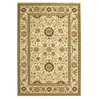 Safavieh Lyndhurst Collection Ivory Area Rug Polypropylene, 5'3