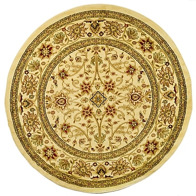 Safavieh Lyndhurst Collection Ivory Round Area Rug