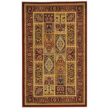 Safavieh Multi/Red Area Rug Polypropylene