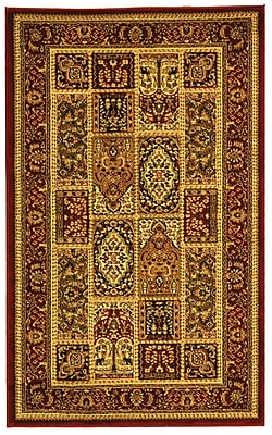 Safavieh Multi/Red Area Rug Polypropylene, 3'3