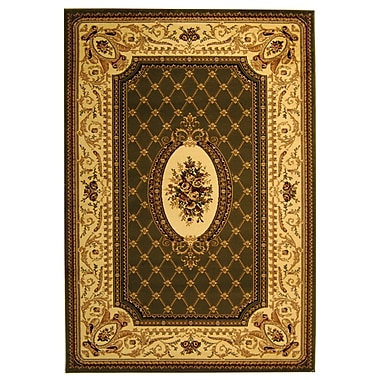 Safavieh Polypropylene Lyndhurst Collection Sage & Ivory Area Rug 5'3