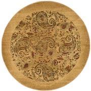 Safavieh Lyndhurst Round Area Rug, 7' x 7', Beige/Multicolour (LNH224A-7R)