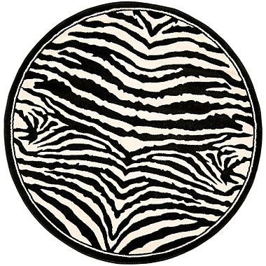Safavieh Lyndhurst Collection Zebra Polypropylene 5'3
