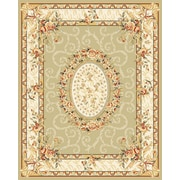 "Safavieh Lyndhurst Collection Sage & Ivory Area Rug Polypropylene, 63"" x 90"""