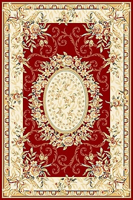Safavieh Lyndhurst Red Rug Polypropylene, 5''3