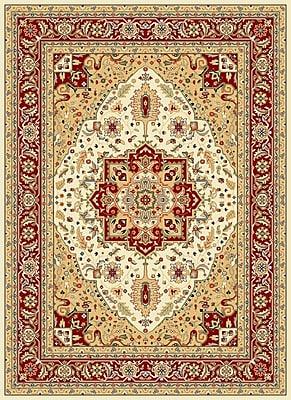 Safavieh Lyndhurst Collection Oriental Pattern Area Rug Polypropylene 5'3