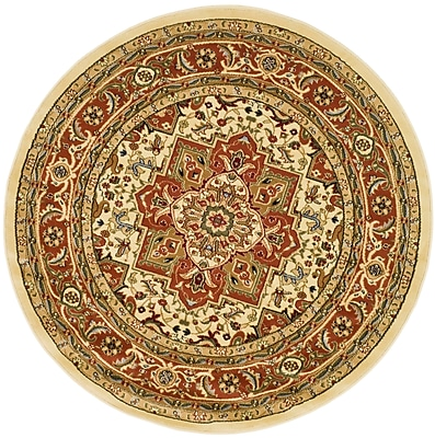 Safavieh Lyndhurst Ivory Oriental Rug Polypropylene 8'