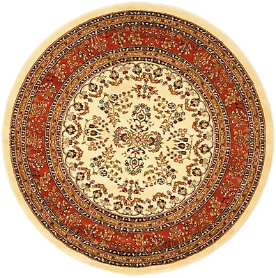 Safavieh Lyndhurst Collection Round Area Rug Polypropylene 5'3