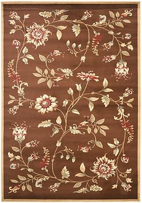 Safavieh Lyndhurst Collection Brown Area Rug Polypropylene, 5'3