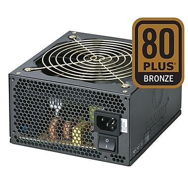 Coolmax – Boîtier d'alimentation ATX de 600 W modulaire compatible SLI et CrossFire ZU-600B, certifié 80 Plus Bronze
