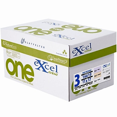 Glatfelter® ExcelOne® 3 Part 20 lbs. Smooth Pre-Collated Paper, 11