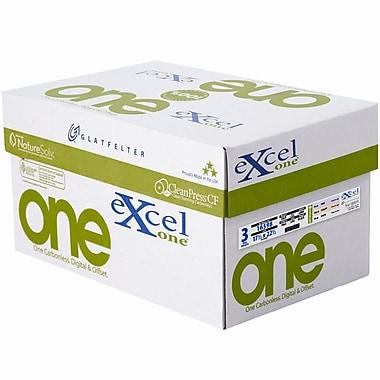 Glatfelter® – Papier lisse préassemblé autocopiant ExcelOne® 3 parties 20 lb., 17,5 x 22,5 po, rose/canari/blanc
