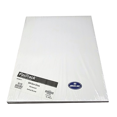 Spinnaker Coating Fastrack® 60 lbs. Semi Gloss Paper, 17.25