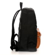 """Jill-e Designs™ Just Dupont Leather Backpack For 15"""" Laptop, Black"""