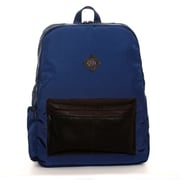 """Jill-e Designs™ Just Dupont Leather Backpack For 15"""" Laptop, Blue"""