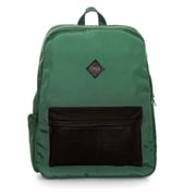 """Jill-e Designs™ Just Dupont Leather Backpack For 15"""" Laptop, Green"""