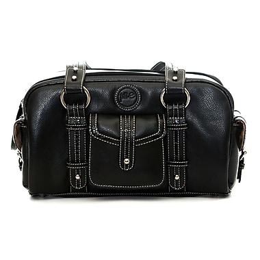 Jill-e Designs™ Leather Small DSLR Camera Bag, Black