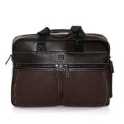 "Jill-e Designs™ Just Silwex 15"" Leather Laptop Bag, Rum Raisin"