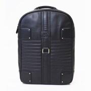 "Jill-e Designs™ Olivia 13"" Leather Laptop Bag, Black"