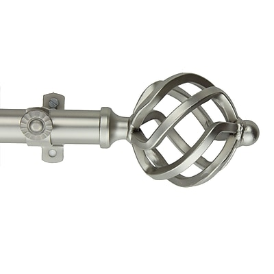 Rod Desyne Metal Curtain Rod and Hardware Set, 66