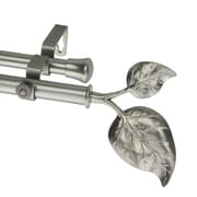 Rod Desyne Metal Ivy Double Curtain Rod