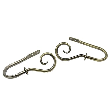 Rod Desyne Metal Curl Decorative Holdback
