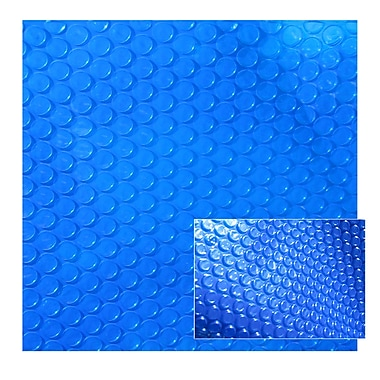 Blue Wave 12' x 20' Rectangular 12 mil Solar Blanket For In-Ground Pools, Blue
