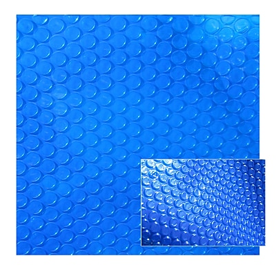 Blue Wave 12' x 24' Rectangular 12 mil Solar Blanket For In-Ground Pools, Blue