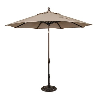 Swim Time™ Catalina II 9' Octagonal Market Umbrellas With Auto-Tilt