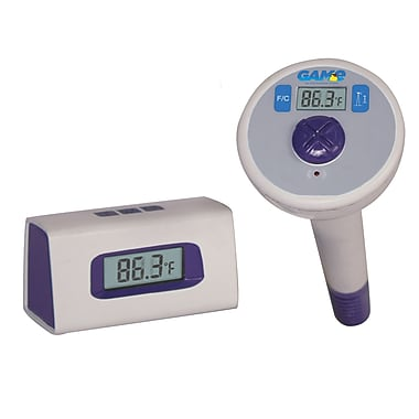 Blue Wave Digital Wireless Pool Thermometer, White/Blue