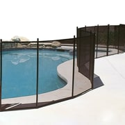 GLI Protect-A-Pool® 4' x 12' In-Ground Pool Safety Fence, Black