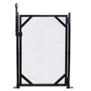GLI 4' x 30' Safety Fence Gate For In-Ground Pools, Black
