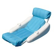 Swimline® SunChaser™ SunSoft™ Luxury Pool Lounger, Blue/White