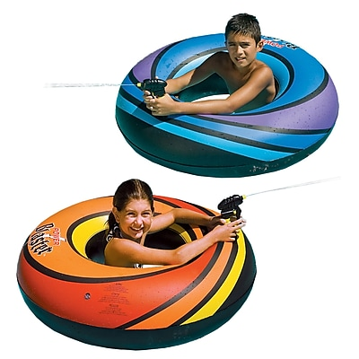Swimline® Powerblaster Squirter Inflatable Pool Toy, Blue/Black