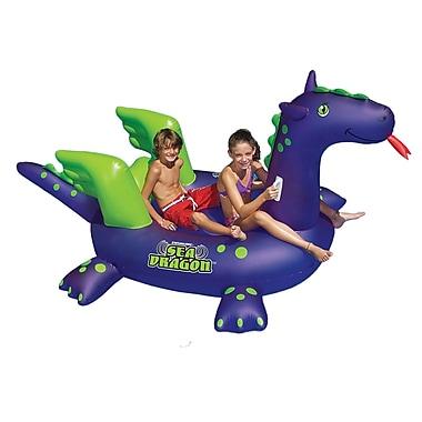 Swimline® Sea Dragon™ 9' Inflatable Giant Ride-On Pool Toy, Purple