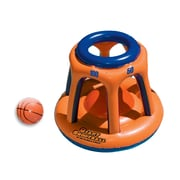 "Swimline® 45"" Giant Shootball Inflatable Pool Toy, Orange/Blue"