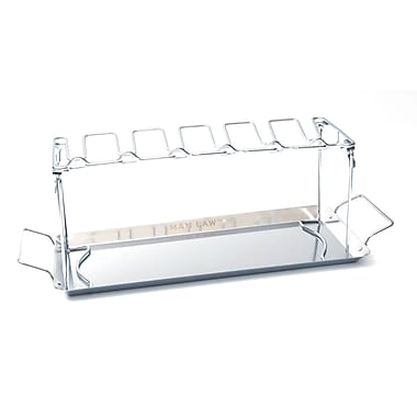 Man Law™ BBQ Heavy Gauge Stainless Steel Chicken Wing Rack