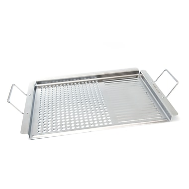 Man Law™ BBQ Heavy Gauge Stainless Steel Grill Topper
