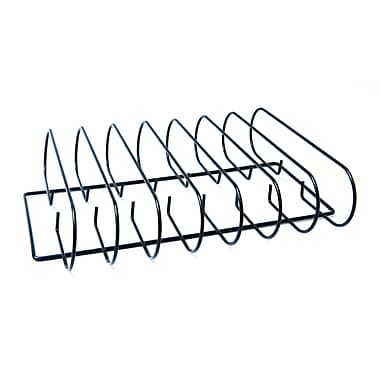 Man Law™ BBQ Heavy Gauge Stainless Steel Rib Rack With Non-Stick Coating