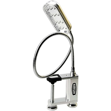 Man Law™ BBQ Grill Light With 12 Super Bright LED Bulbs and Adjustable Screw Clamp